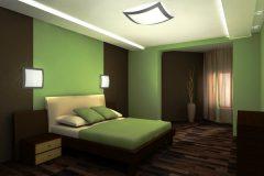 Какую мебель подобрать к зеленым обоям?