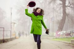 Модные фасоны женских пальто