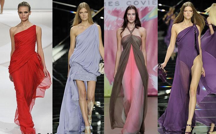 Цвет вечернего платья. Создаем правильный образ