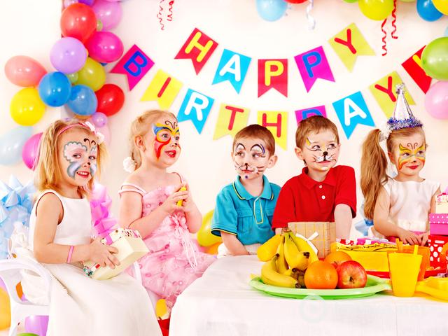 День рождения пятилетнего ребенка