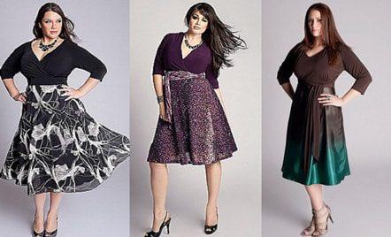 ТОП-5 фасонов юбок для полных женщин