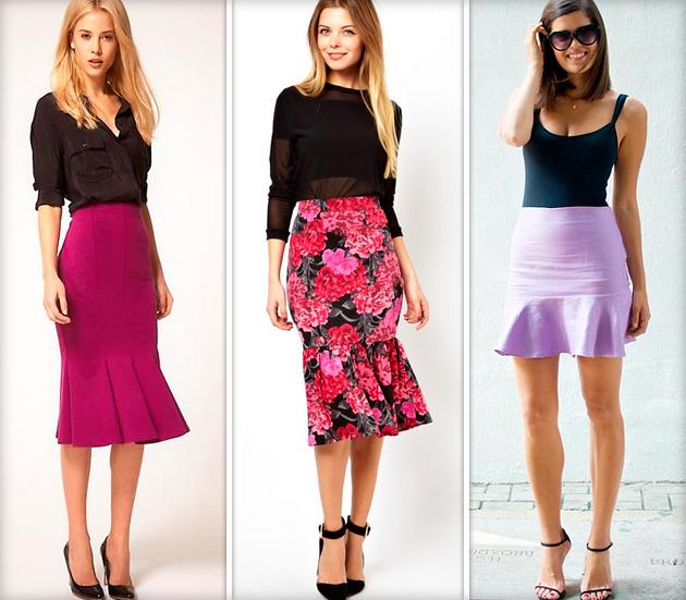 Юбка годе — какую выбрать и с чем носить?