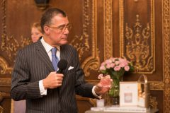 Принцесса Марина де Бурбон представила свой новый аромат Cristal Royal Rose