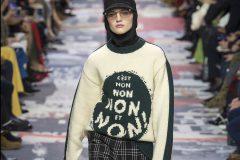 Женская революция на показе Dior осень-зима 2018