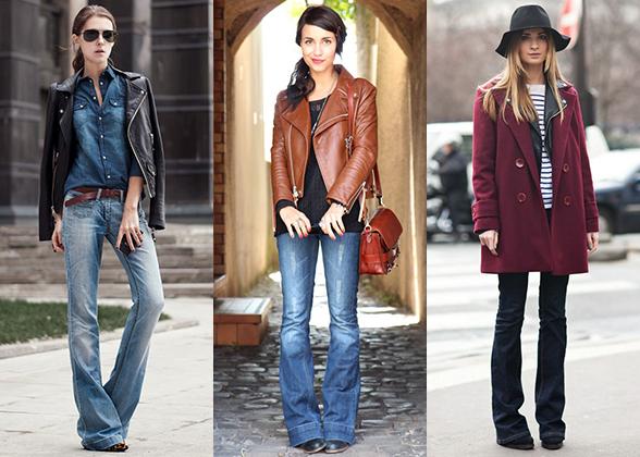 Тенденции в мире моды: джинсы клеш возвращаются