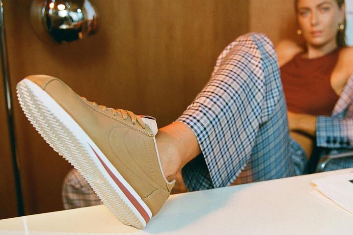 Nike и Мария Шарапова представили новую модель Cortez