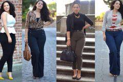 Как одеться женщине с фигурой типа «груша»
