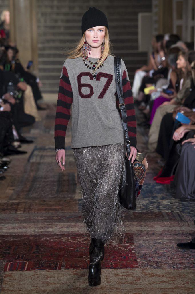 Юбилейный показ Ralph Lauren на Неделе моды в Нью-Йорке