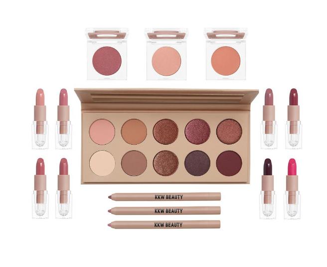 В розовом цвете: новая коллекция макияжа Ким Кардашьян