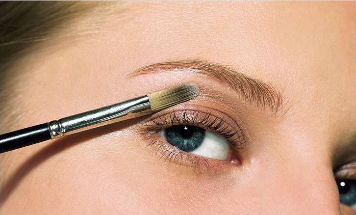 Техника нанесения макияжа для глаз