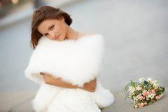 Свадебные накидки и шубки