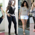 Как правильно крупным дамам подобрать одежду?