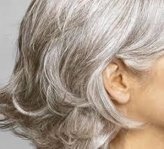 Красим седые волосы