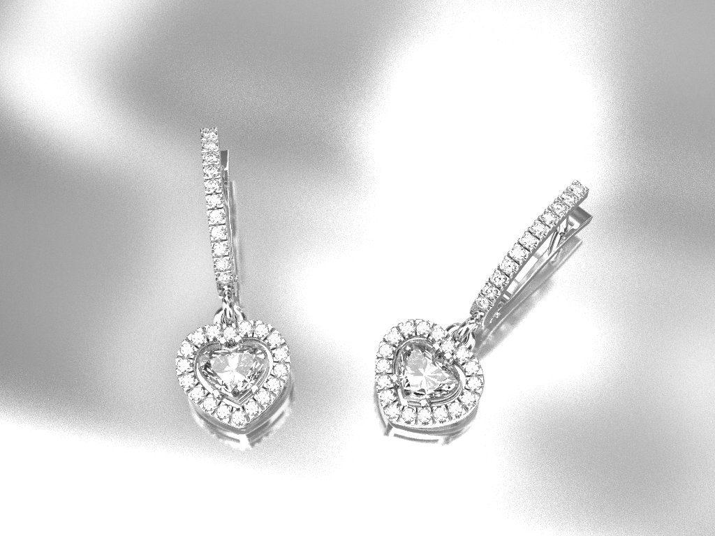 Где купить серьги с бриллиантами в Киеве: специализированные услуги магазина ZBIRD