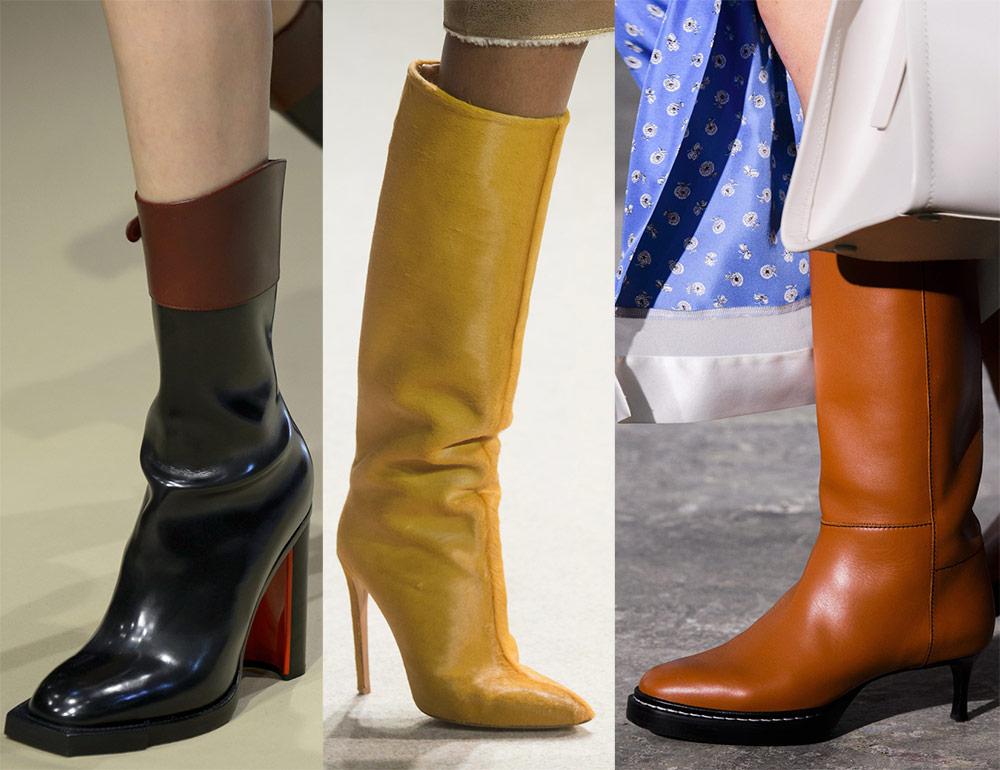 Модные сапоги 2019