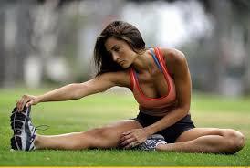 Подтянутая фигура благодаря регулярным занятиям спортом
