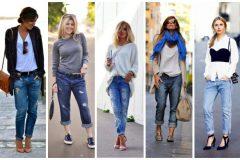 Какие туфли одеть под джинсы?