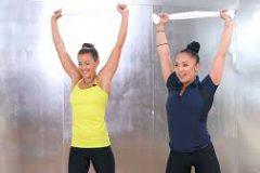 Необычные приспособления для фитнеса: полотенце