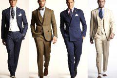 Разновидности мужских деловых костюмов