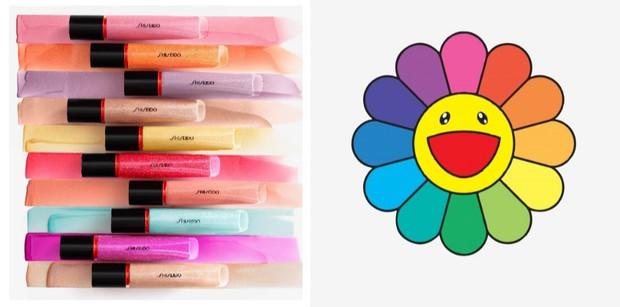 В палитре Takashi Murakami: блески для губ Shiseido