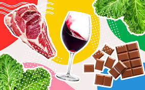 Вино, картофель, шоколад и другие составляющие гиалуроновой диеты для красивой кожи