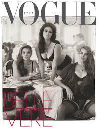 Vogue Italia представили коллекционный выпуск со 100 обложками