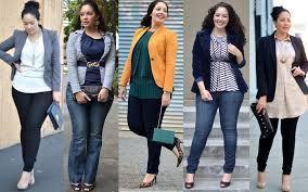 Модная одежда для обладательниц пышных форм