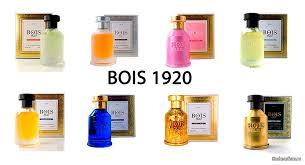 Неповторимые и индивидуальные ароматы Bois 1920