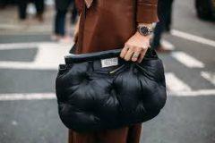 Как носить дутые сумки