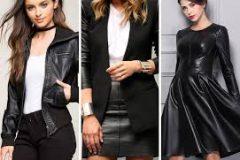 Как носить верхнюю одежду из экокожи
