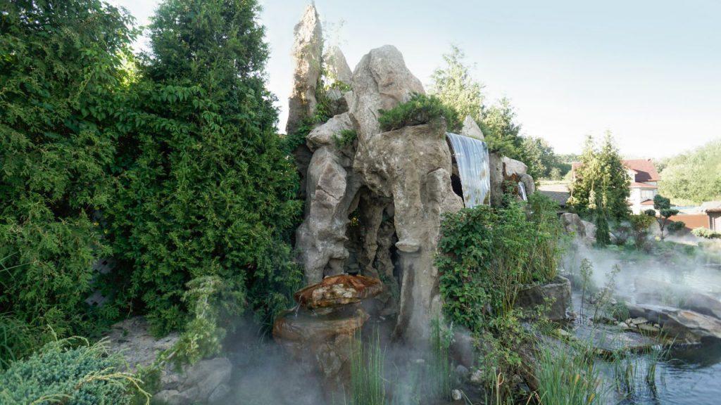Искусственные скалы — 4 вида камней, которые используются для реализации проекта специалистами компании «Kostya Udin Landscape»