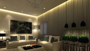 Современное освещение для натяжного потолка